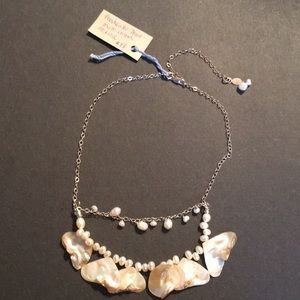 New freshwater pearl multi strand necklace